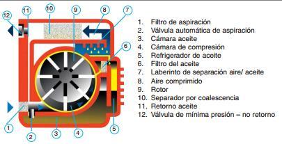 compresores de paletas. Aire comprimido - SERVICIO TÉCNICO PARA COMPRESORES